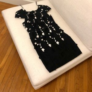 Tibi Floral Backless Dress